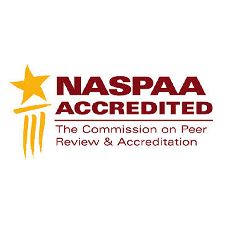 NASPAA accredited